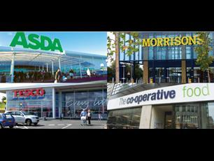 Embattled grocer Tesco\'s sales tumbled 5.9% in the 12 weeks to August 16, as its share slumped from 29.7% to 28.2% year on year.